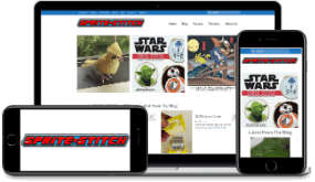 Sprite Stitch website by Rhys Turton