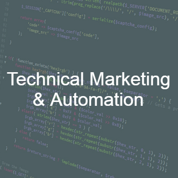 technical marketing & automation