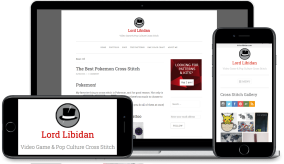Lord Libidan website by Rhys Turton