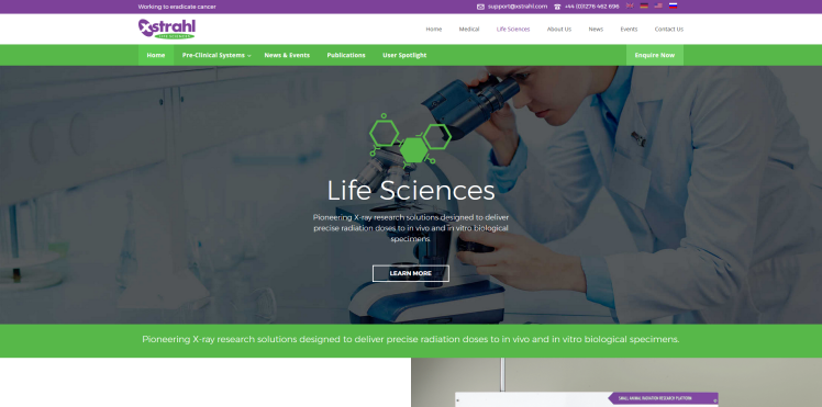 Life Science Website by Rhys Turton