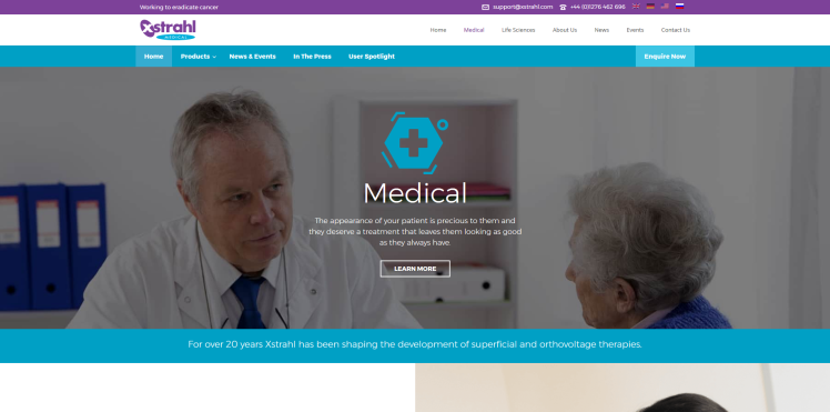 Medical Website by Rhys Turton